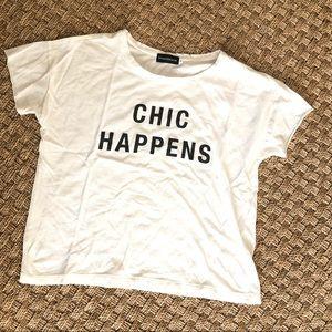 🌟Stylestalker Chic Happens T-shirt